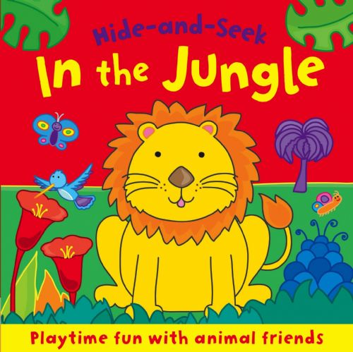 In the Jungle (Board Book Deluxe) Board book